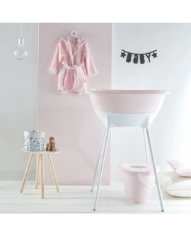 Luma bath set -pink
